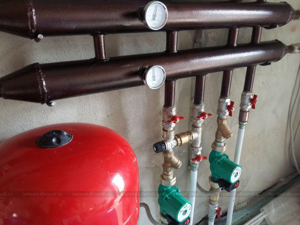 образец договор на ремонт системы отопления