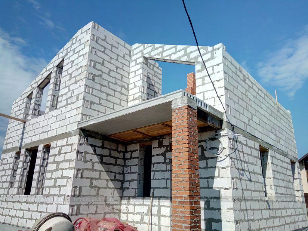 инструкция по строительству дома из твинблока фото