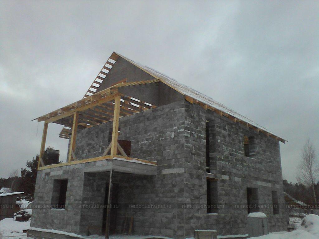 Строительство дом из полистеролблоков