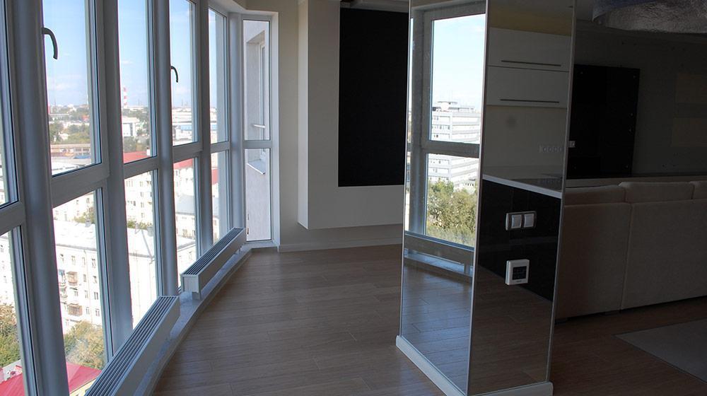 Как расширить комнату за счёт балкона и не замёрзнуть? - ста.